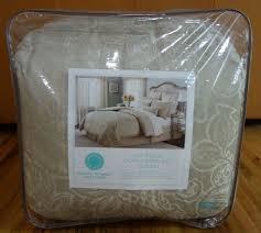 24 Piece Comforter Set Queen Martha Stewart Gated Garden 24 Piece Queen Comforter Set
