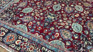 Blue And Black Rug Red Blue And Black Semi Antique Persian Mashad Oriental Rug 8