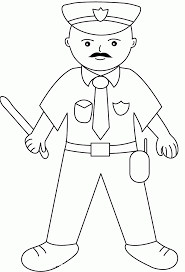 Policeman Drawing Cute Coloring Call Of Duty Black Ops Coloring Pages