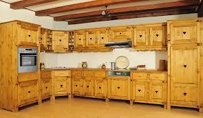 cuisine pin cuisine chamonix en pin massif le magasin du pin