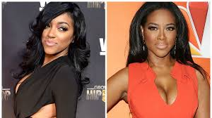porsha porsche real housewives of atlanta u0027 star kenya moore kicks porsha williams