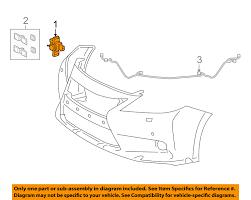 lexus is250 for sale on ebay lexus toyota oem 14 15 ct200h rear bumper park sensor 8934133200b1