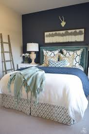 Navy Accent Wall Bedroom 1977 Best Images About The Nest On Pinterest Architecture