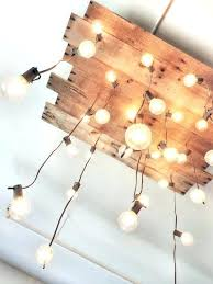 home depot chandelier light bulbs light hanging light bulb chandelier pallet bulbs ideas diy hanging