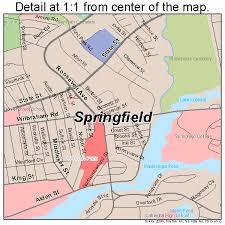 road map massachusetts usa springfield massachusetts map 2567000