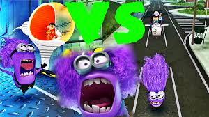 despicable me minion rush boss meena vs boss vector evil minion