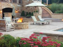 Stamped Concrete Patio Design Ideas by Stamped Concrete Patio Overlook Buchheit Construction