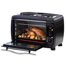 Hamilton Beach Set Forget Toaster Oven With Convection Cooking Salter 28 Litre Mini Toaster Oven With 2 Hotplate Hobs