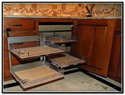 Kitchen Cabinets With Pull Out Shelves Corner Cabinet Idea Pull Out Shelves For The Far Back And The