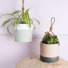 Modern Hanging Planter by Indoor Hanging Pots Home Design Ideas