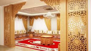 Les Fauteuils Marocains Indogate Com Salon Marocain Moderne Marron