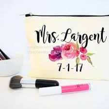 bridal makeup bag canvas bridal cosmetic bag with handle from china of cosmeitc bag