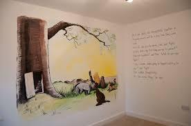 winnie the pooh bedroom sweetart murals nursery murals