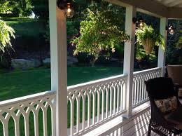 handrails for pvc railing panels the porch companythe porch company