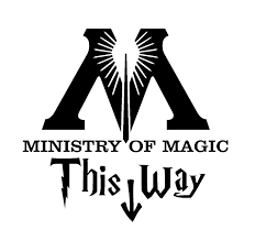 Harry Potter Home Decor by Sticker Harry Potter Ministry Of Magic Différentes Tailles Et