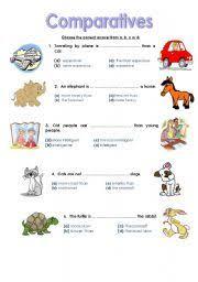 comparatives worksheet by reem al shehhi