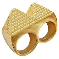 finger gold rings images Republic 2 black scale the pyramid finger ring in gold brach 39 s jpg