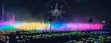 glow show disneyland details ir technology glow with the show