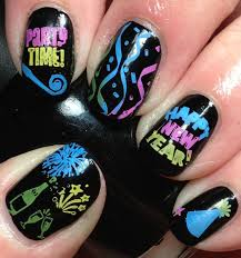 Nail Art Designs For New Years Eve 12 Best New Year Eve U0027s Nails Images On Pinterest New Years Eve
