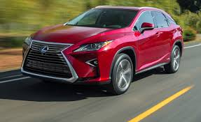 lexus red paint code 2016 lexus rx first drive u2013 review u2013 car and driver