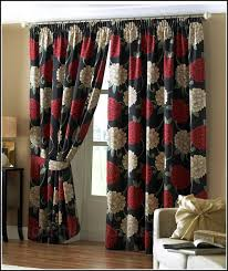 Red Kitchen Curtain by Red White And Black Kitchen Curtains Curtains Home Design