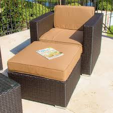 Patio Chair With Ottoman Patio Chair With Ottoman Classic Interior Plans Free Or Other