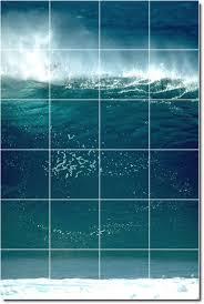 ceramic tile murals for bathroom download wall mural wallpaper waves photo ceramic tile mural id 312019 4x6