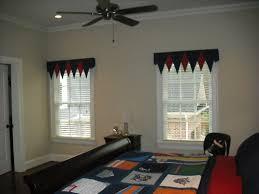 banner valance in a teen boy u0027s bedroom best window treatments