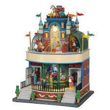 lemax halloween houses amazon com lemax christmas wonderland toy store 05070 home