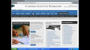 Detailed Construction Cost Estimate Spreadsheet Construction Cost Estimating And Material Takeoff Youtube
