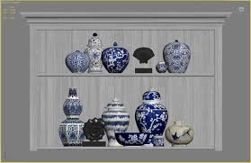 Williams And Sonoma Home by Williams Sonoma Home Decor Set 2 3d Model Cgtrader