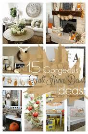 15 Gorgeous Fall Home Decor Ideas Craft O Maniac