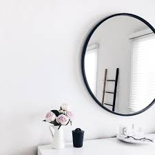 White Framed Mirror Interiors Rooms Style Pinterest And Insta