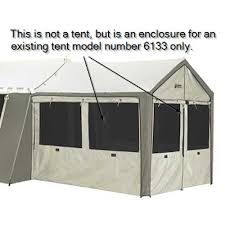 Wall Awning Kodiak Canvas 0650 Wall Enclosure For Model 6133 Deluxe Awning Tent