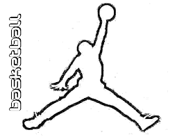 coloring pages of sports logos coloring page