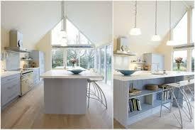 cuisine scandinave design îlot central de cuisine en 30 idées originales
