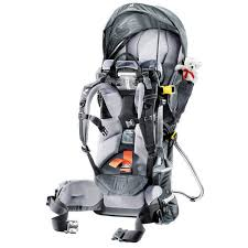 Deuter Kid Comfort 2 Deuter Kid Comfort 3 Child Carrier Backpack Used Campman
