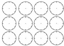 blank clock face worksheet blank clock faces worksheet ks1