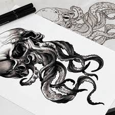 45 best tattoo images on pinterest octopus tattoos octopus