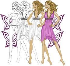 to draw fashion designs