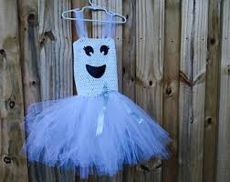 Ghost Halloween Costume Ghost Tutu Dress Etsy