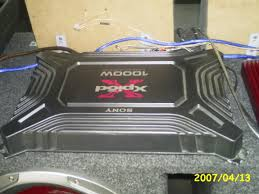 best sony xplod 1000 watt amp 92 with additional simple cover