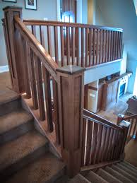 Stair Options by Mission Style Staircase U0026 Railings Artistic Stairs