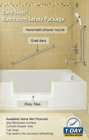 Bathtub Bars Easy Step Bathroom Safety Package Jpg