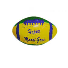 mardi gras throws wholesale 9 happy mardi gras vinyl footballs toomey s mardi gras