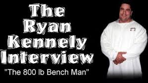 Powerlifting Bench Press Shirt Interview With Ryan Kennelly The 800 Lb Bench Press Man