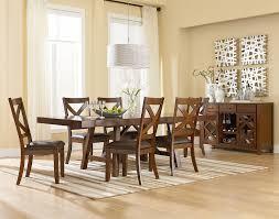 standard furniture dining room sets standard furniture omaha brown trestle dining room table with two