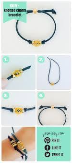 charm bracelet make images Diy bracelets knotted charm bracelet pinterest bracelet jpg
