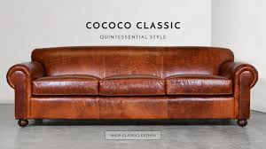 High End Leather Sofas Chesterfield Sofas Modern Furniture Made In Usa Cococohome