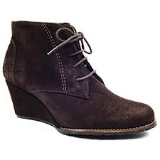 womens ankle boots size 9 uk jones bootmaker march brown wedge lace up ankle boots size